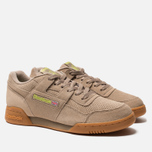 Мужские кроссовки Reebok Workout Plus MU Sand Beige/Neon Lime фото- 1