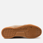 Мужские кроссовки Reebok Workout Plus MU Sand Beige/Neon Lime фото- 4