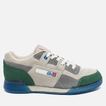 Мужские кроссовки Reebok x Garbstore Workout Plus Low Warm Grey/Cool Grey/Off White/Green Ice фото- 0