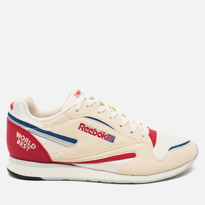 Мужские кроссовки Reebok World Best Chalk/Paper White/Snow Grey/Red/Lagoon