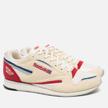 Мужские кроссовки Reebok World Best Chalk/Paper White/Snow Grey/Red/Lagoon фото- 1