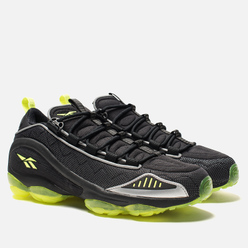 Мужские кроссовки Reebok x atmos DMX Run 10 Black/Neon Yellow/Grey