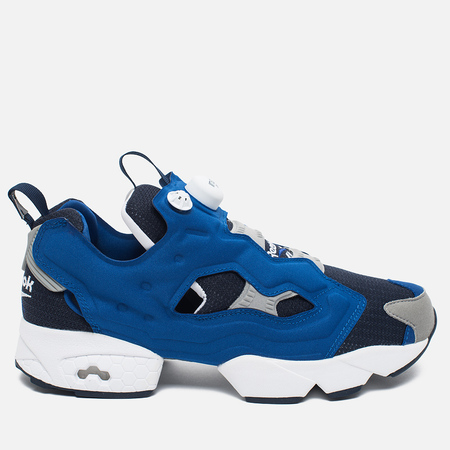 Мужские кроссовки Reebok x Beams Instapump Fury Affiliates Navy/White/Royal/Grey