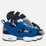 Мужские кроссовки Reebok x Beams Instapump Fury Affiliates Navy/White/Royal/Grey фото- 2