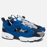 Мужские кроссовки Reebok x Beams Instapump Fury Affiliates Navy/White/Royal/Grey фото- 1