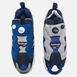 Мужские кроссовки Reebok x Beams Instapump Fury Affiliates Navy/White/Royal/Grey фото- 4