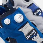 Мужские кроссовки Reebok x Beams Instapump Fury Affiliates Navy/White/Royal/Grey фото- 5