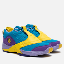 Мужские кроссовки Reebok x Billionaire Boys Club Ice Cream Answer V MU Blue/Purple/Yellow
