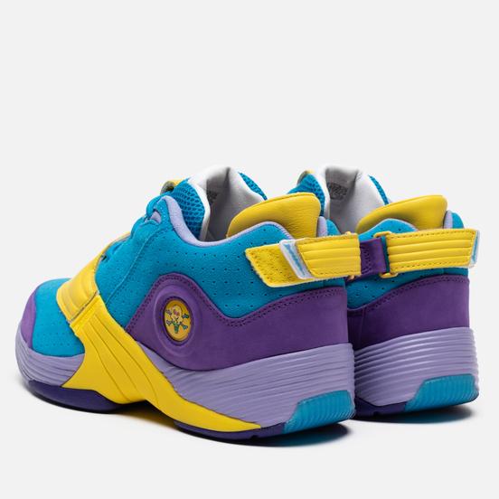 Мужские кроссовки Reebok x Billionaire Boys Club Ice Cream Answer V MU Blue/Purple/Yellow