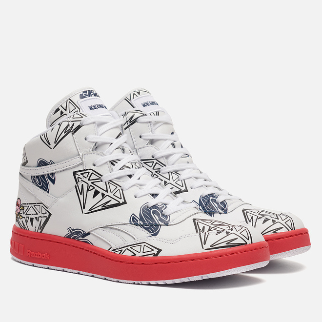 Мужские кроссовки Reebok x Billionaire Boys Club Ice Cream BB4600 White/Pantone/Collegiate Navy