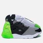 Мужские кроссовки Reebok x Black Scale Furylite Black/White/Solar Green фото- 1