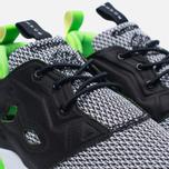 Мужские кроссовки Reebok x Black Scale Furylite Black/White/Solar Green фото- 3