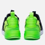 Мужские кроссовки Reebok x Black Scale Furylite Black/White/Solar Green фото- 5