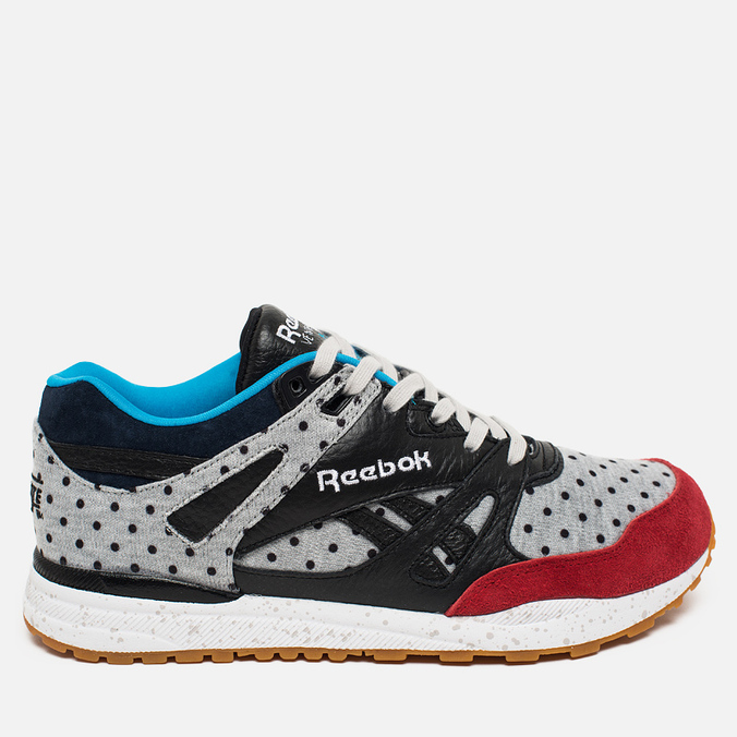 Мужские кроссовки Reebok x Bodega Ventilator CN Terry Blay Grey/Red/Black