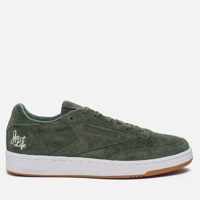 Мужские кроссовки Reebok x Curren$y Club C 85 Jet Life Primal Green/White