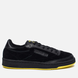 Мужские кроссовки Reebok x Distinct Life Club C 85 Inventor Pack Black/Bright Yellow/Scarlet фото- 0