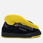 Мужские кроссовки Reebok x Distinct Life Club C 85 Inventor Pack Black/Bright Yellow/Scarlet фото- 1