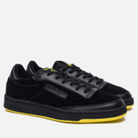 Мужские кроссовки Reebok x Distinct Life Club C 85 Inventor Pack Black/Bright Yellow/Scarlet фото- 2