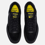 Мужские кроссовки Reebok x Distinct Life Club C 85 Inventor Pack Black/Bright Yellow/Scarlet фото- 4