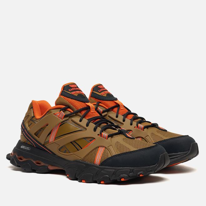 Мужские кроссовки Reebok x Eastlogue DMX Trail Shadow Golden Brown/Black/ Orange Dusk
