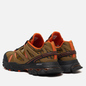 Мужские кроссовки Reebok x Eastlogue DMX Trail Shadow Golden Brown/Black/ Orange Dusk фото - 2
