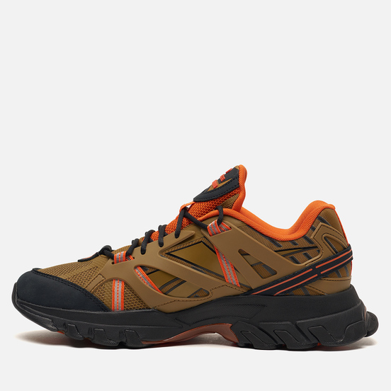 Мужские кроссовки Reebok x Eastlogue DMX Trail Shadow Golden Brown/Black/ Orange Dusk