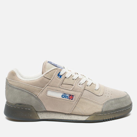 Мужские кроссовки Reebok x Garbstore Workout Low Plus Off White/Cleat Grey