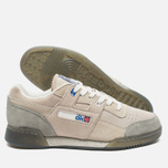 Reebok x Garbstore Workout Low Plus Men's Sneakers Off White/Cleat Grey photo- 2