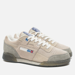 Reebok x Garbstore Workout Low Plus Men's Sneakers Off White/Cleat Grey photo- 1