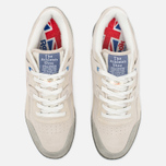 Reebok x Garbstore Workout Low Plus Men's Sneakers Off White/Cleat Grey photo- 4