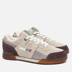 Мужские кроссовки Reebok x Garbstore Workout Plus Low Stucco/Almost Grey/Cool Shadow