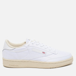 Reebok x Hall Of Fame Club C 85 Men's Sneakers White/Paper White photo- 0