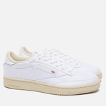 Reebok x Hall Of Fame Club C 85 Men's Sneakers White/Paper White photo- 1