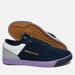Мужские кроссовки Reebok x Mita Sneakers x Flaph Workout Low Clean Navy/Violet/White фото- 1