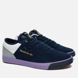 Мужские кроссовки Reebok x Mita Sneakers x Flaph Workout Low Clean Navy/Violet/White фото- 2