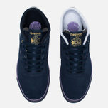 Мужские кроссовки Reebok x Mita Sneakers x Flaph Workout Low Clean Navy/Violet/White фото- 4