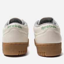 Мужские кроссовки Reebok x Oi Polloi Workout Clean MU Chalk/Vegetal Green/White/Collegiate Royal/Core Red фото- 2