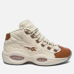 Мужские кроссовки Reebok x Sneakersnstuff Question Mid Paper White/Brown Malt фото- 0