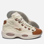 Мужские кроссовки Reebok x Sneakersnstuff Question Mid Paper White/Brown Malt фото- 1