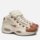 Мужские кроссовки Reebok x Sneakersnstuff Question Mid Paper White/Brown Malt фото- 2