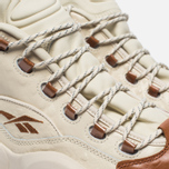 Мужские кроссовки Reebok x Sneakersnstuff Question Mid Paper White/Brown Malt фото- 3