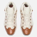 Мужские кроссовки Reebok x Sneakersnstuff Question Mid Paper White/Brown Malt фото- 4