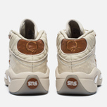 Мужские кроссовки Reebok x Sneakersnstuff Question Mid Paper White/Brown Malt фото- 5
