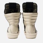 Мужские кроссовки Rick Owens Geobasket Black/Milk фото- 3