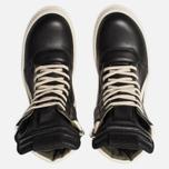 Мужские кроссовки Rick Owens Geobasket Black/Milk фото- 5