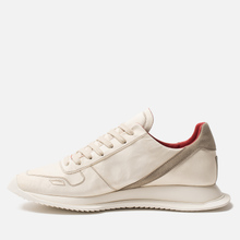 Мужские кроссовки Rick Owens New Vintage Runner Lace Up Parchment Combo Milk/Pearl фото- 5