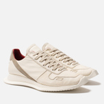 Мужские кроссовки Rick Owens New Vintage Runner Lace Up Parchment Combo Milk/Pearl фото- 2