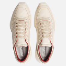 Мужские кроссовки Rick Owens New Vintage Runner Lace Up Parchment Combo Milk/Pearl фото- 1