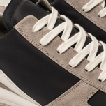 Мужские кроссовки Rick Owens New Vintage Runner Lace Up Tech Canvas/Velour Suede Black/Clear Sole фото- 6