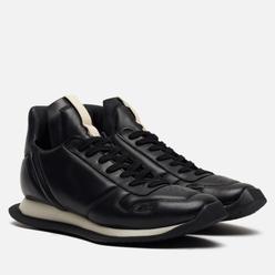 Мужские кроссовки Rick Owens Tecuatl Maximal Runner Black